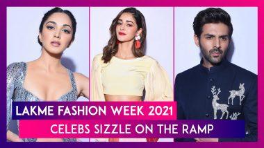 Lakme Fashion Week 2021: Kiara Advani, Kartik Aaryan, Ananya Panday, Hina Khan, Dia Mirza, Lara Dutta & Others Sizzle On The Ramp