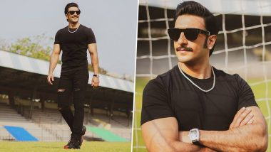 Ranveer Singh Is Killing It in Black and These Pics of the 83 Star Are Proof