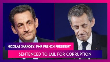 Nicolas Sarkozy, Former French President Sentenced To Jail For Corruption In Historic Ruling