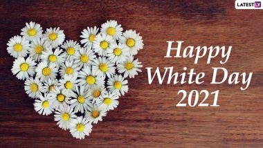 White Day 2021 Wishes, HD Images and WhatsApp Stickers: Facebook Greetings, Telegram Messages, Signal GIFs and Photos to Celebrate the Romantic Event