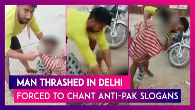 Delhi Riot Accused, Out On Bail, Assaults Muslim Youth, Forces Him To Chant 'Pakistan Murdabad'