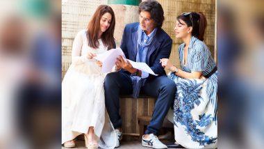 Ram Setu: Akshay Kumar, Nushrratt Bharuccha, Jacqueline Fernandez Look Super Busy Reading The Script of Their Next (See Pic)