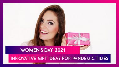 Women's Day 2021: Innovative Gift Ideas For Pandemic Times