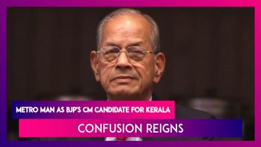 E Sreedharan, The 'Metro Man' As BJP's Chief Minister Candidate For Kerala, Confusion Reigns