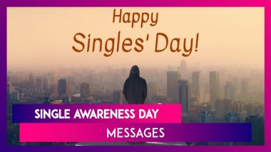 Single Awareness Day 2021 HD Images & Wallpapers: Quotes, Wishes, Telegram Greetings for Loved Ones