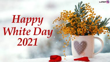 Happy White Day 2021 Messages: WhatsApp Stickers, Facebook HD Images, Signal Wishes, Romantic Quotes and Telegram Greetings to Send to Your Beau