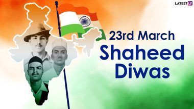 Shaheed Diwas 2021 Messages, Patriotic Quotes & Images of Martyrs Bhagat Singh, Sukhdev Thapar and Shivaram Rajguru Take Over Twitter On Their Death Anniversary
