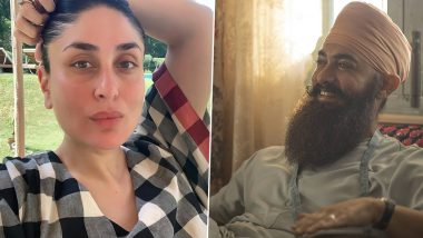 Kareena Kapoor Khan Shares Aamir Khan's Unseen Picture From Laal Singh Chaddha on His 56th Birthday, Says 'Happy Birthday My Lal'