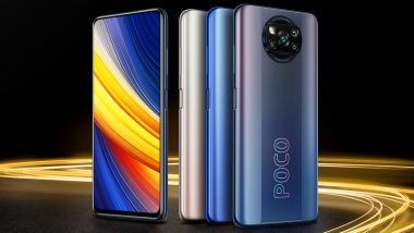 Poco X3 Pro Smartphone To Go on Sale Tomorrow at 12 PM Via Flipkart
