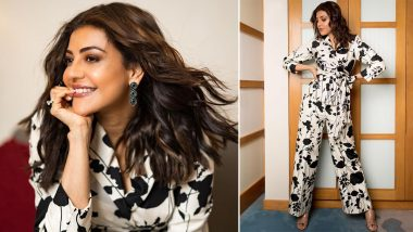 Kajal Aggarwal Spins a Black and White Magic and We're All Hearts For It (View Pics)