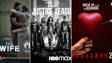 OTT Releases of the Week: Zack Snyder's Justice League on HBO Max, Gurmeet Choudhary's The Wife on ZEE5, Taha Shah's Bekaaboo 2 on ALTBalaji and More