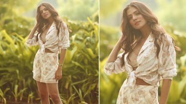 Malavika Mohanan is Summer Ready in Her Chic Floral Co-ord Set (View Pics)