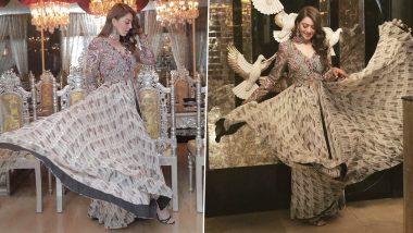 Yo or Hell No? Hansika Motwani's Boho Inspired Dress by Anamika Khanna