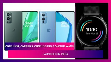 OnePlus 9R, OnePlus 9, OnePlus 9 Pro & OnePlus Watch Launched in India; Check Prices, Features, Variants & Specifications