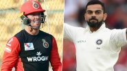 AB de Villiers Lavishes Massive Praise on Virat Kohli's Leadership After India Defeat England 3–1 in Test Series (View Post)