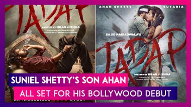 Tadap: Suniel Shetty's Son Ahan All Set For His Bollywood Debut, Akshay Kumar & Ajay Devgn Get Emotional As They Share First Look Poster