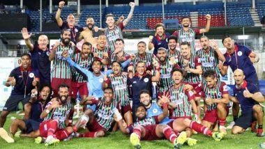 ATKMB 2-1 NEUFC, ISL 2020-21 Match Result: ATK Mohun Bagan Pip NorthEast United FC to Set Up Final Against Mumbai City