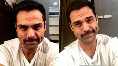 Abhay Deol Treats Fans With an Adorable Dimpled Post, Opens Up on Why Do Filmmakers Only Want To See Him With Moustache (View Pics)