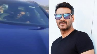 Man Arrested in Mumbai for Stopping Ajay Devgn's Car Over The Actor's Stand on Farmers' Protest