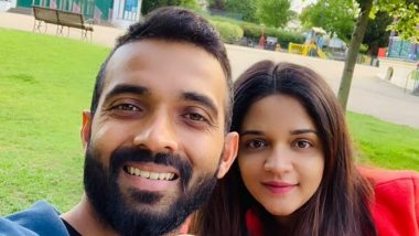 Ajinkya Rahane Wishes All Women a Very Happy Women's Day 2021, Thanks Them for 'Unending Support'