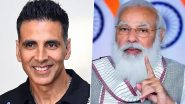 Akshay Kumar Rubbishes Reports of Attending PM Narendra Modi's Rally in Kolkata, Calls It 'Baseless and False'