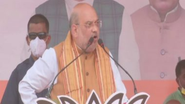 West Bengal Assembly Elections 2021: Will Make Bengal Free of Infiltrators; No One Will Stop Saraswati, Durga Puja if BJP Comes to Power, Says Amit Shah