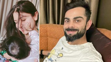 Virat Kohli Pens Heartfelt Note for Anushka Sharma, Daughter Vamika on International Women's Day 2021