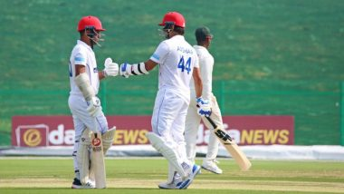 Asghar Afghan Becomes 1st Afghanistan Batsman to Hit 150 in Tests During Match Against Zimbabwe