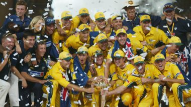 This Day That Year: Australia Beat India in 2003 World Cup Final to Lift Second Consecutive Title