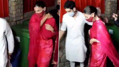 Alia Bhatt Spotted with Ayan Mukerji at Mumbai's Mukteshwar Temple to Seek Blessings on Maha Shivratri (Watch Video)
