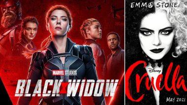 Scarlett Johansson's Black Widow and Emma Stone's Cruella Will Release in Theatres and Disney+ on July 9