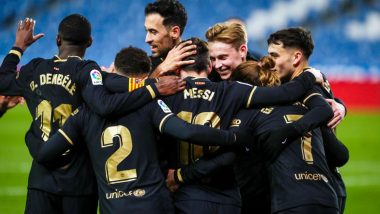 Real Sociedad 1–6 Barcelona, Goal Video Highlights: Lionel Messi Scores a Brace As Catalan Club Rout Sociedad