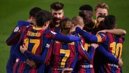 How To Watch Barcelona vs Atletico Madrid, La Liga 2020–21 Live Streaming Online in India? Get Free Live Telecast of Football Score Updates on TV