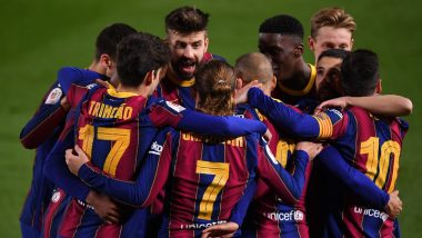 How to Watch Barcelona vs Getafe, La Liga 2020-21 Live Streaming Online in India? Get Free Live Telecast of BAR vs GET Football Game Score Updates on TV