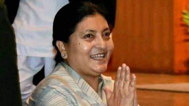 Nepal President Bidya Devi Bhandari Dissolves House, Announces Mid-Term Polls in November 2021