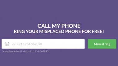 Call My Phone – The Best, Free Calling Service To Track Misplaced Phones!