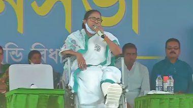 COVID-19 Surge in West Bengal: Mamata Banerjee Writes to PM Narendra Modi, Asks for 5.4 Crore Doses of Coronavirus Vaccine