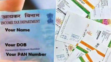PAN-Aadhaar Card Linking: Netizens Say Income Tax Site Down, Seek Extension as Deadline to Link PAN Number and Aadhaar Number Ends Today; Here's How Linking Can be Done Via SMS