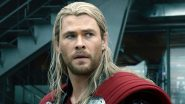 Thor: Love and Thunder – Chris Hemsworth Dressed in His Asgard Avatar Is Upto Something in This Leaked Video From the Sets (Watch)