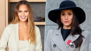 Chrissy Teigen Supports Meghan Markle amid Social Media Trolls on the Duchess of Sussex