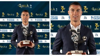Cristiano Ronaldo Reacts After Winning Serie A Player of the Year Award, Thanks People Who Work Behind the Scenes to Make Juventus Better!