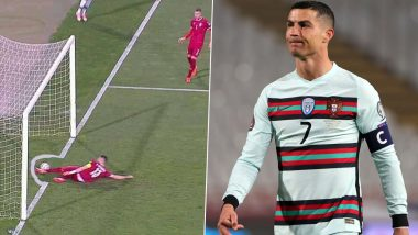 Referee Danny Makkelie Apologises to Cristiano Ronaldo & Portugal After Disallowed Goal Against Serbia in World Cup 2022 Qualifiers