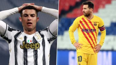 Lionel Messi and Cristiano Ronaldo Miss Champions League Quarter-Finals for First Time in 16 Years, Fans React With Sad Memes