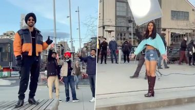 Diljit Dosanjh, Sonam Bajwa Give a Fun Twist to Their Pawri Ho Ri Hai Video -WATCH