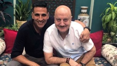 Happy Birthday Anupam Kher: Akshay Kumar Extends Warm Wishes for the Baby, Special 26 Co-Star