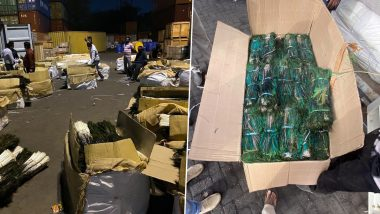 Delhi Custom Seizes 21 Lakh Pieces of Peacock Tail Feathers Allegedly Being Smuggled to China