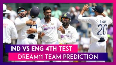 India vs England Dream11 Team Prediction, 4th Test 2021: Tips To Pick Best Playing XI