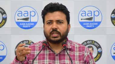 AAP Leader Durgesh Pathak Attack BJP Over Irregularities in Construction of Rani Jhansi Flyover