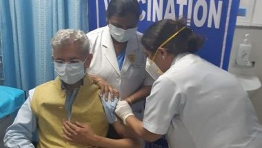 EAM S Jaishankar After Receiving COVID-19 Vaccination, Says 'Feeling Perfectly Fine and Confident'