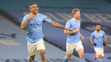 Premier League 2020–21 Match Result: Manchester City Thrash Wolves 4–1 To Extend Lead at Top of Table